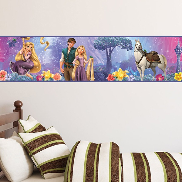 Stickers for Kids: Wall Border Rapunzel