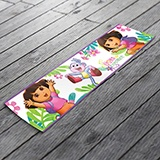 Stickers for Kids: Wall Border Dora the Explorer 3