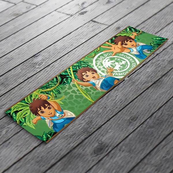 Stickers for Kids: Wall border for baby room Go Diego Go!