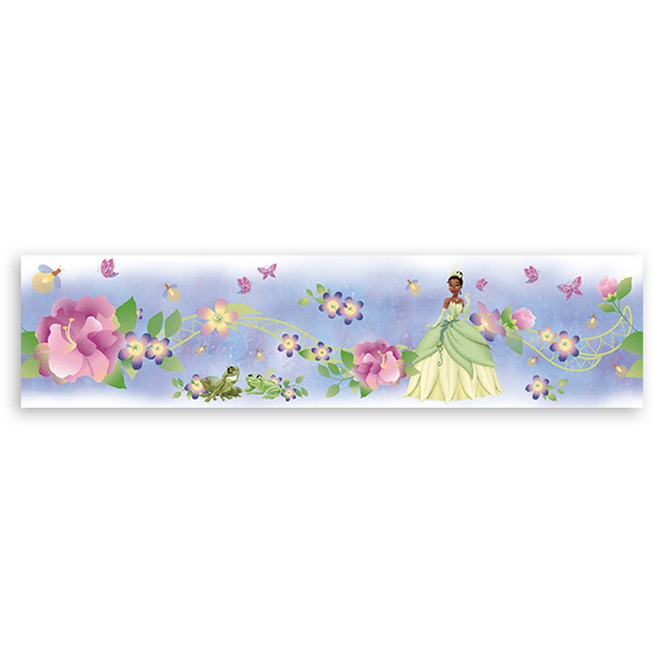 Stickers for Kids: Wall Border The Princess and the Frog