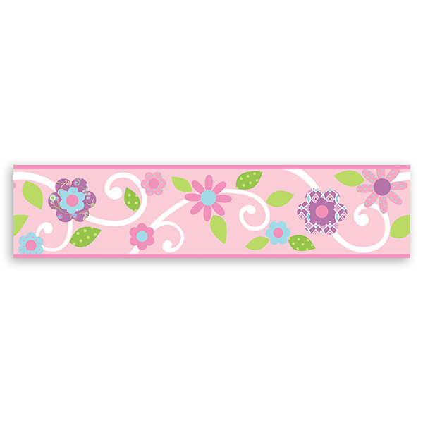 Stickers for Kids: Wall Border Spring