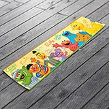 Stickers for Kids: Wall Border Sesame Street 3