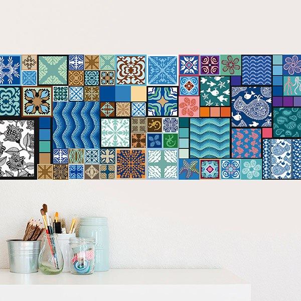 Wall Stickers: Square Composition