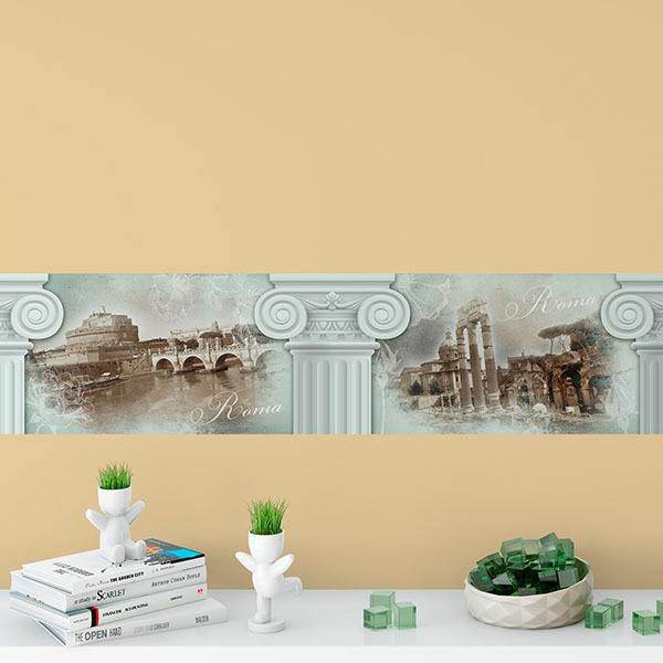 Wall Stickers: Rome and its architecture