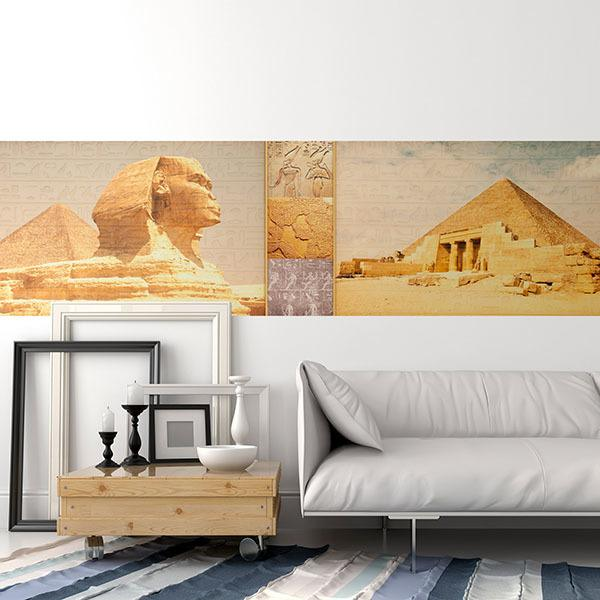 Wall Stickers: Pyramids and Sphinx