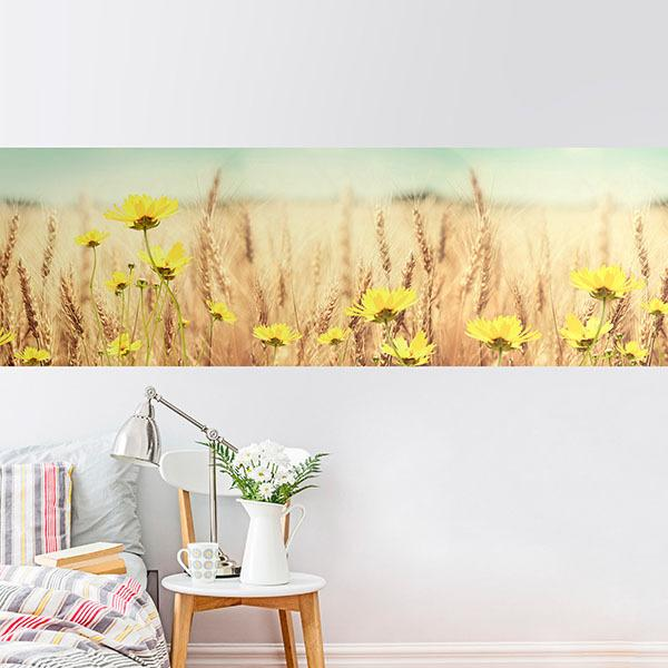 Wall Stickers: Wheat field