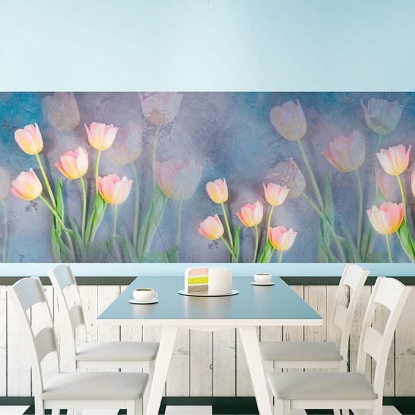 Wall Stickers: Painted tulips