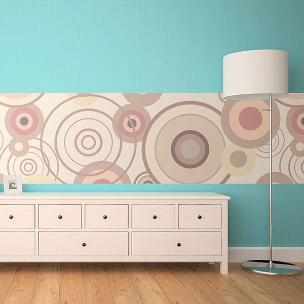 Wall Stickers: Psychedelic circles