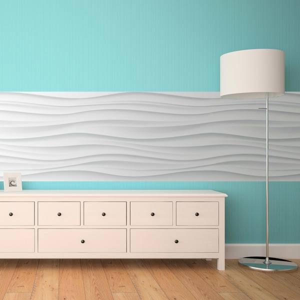 Wall Stickers: Curved lines
