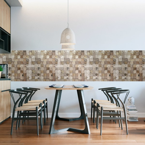 Wall Stickers: Stone squares