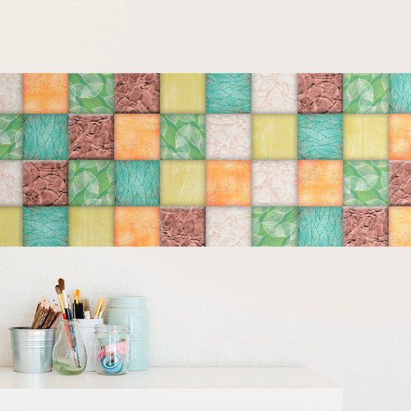 Wall Stickers: Tile weed
