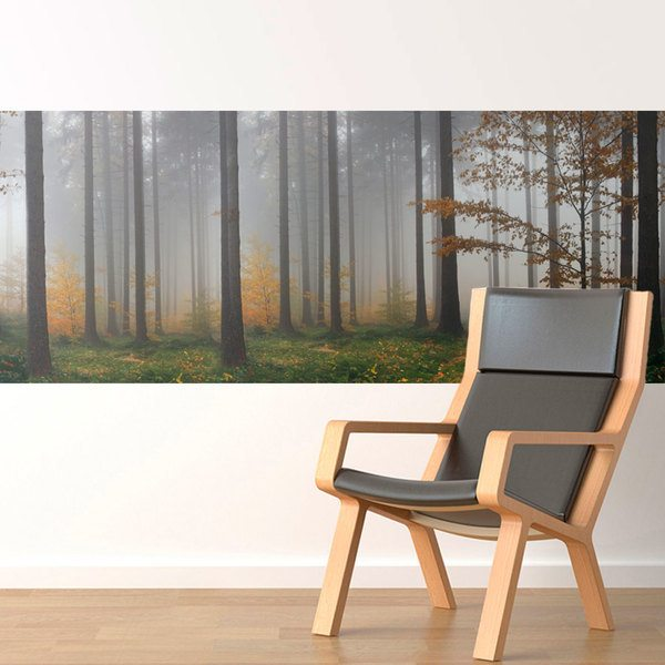 Wall Stickers: Fog in the forest