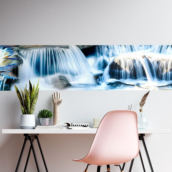 Wall Stickers: Waterfall in the spring