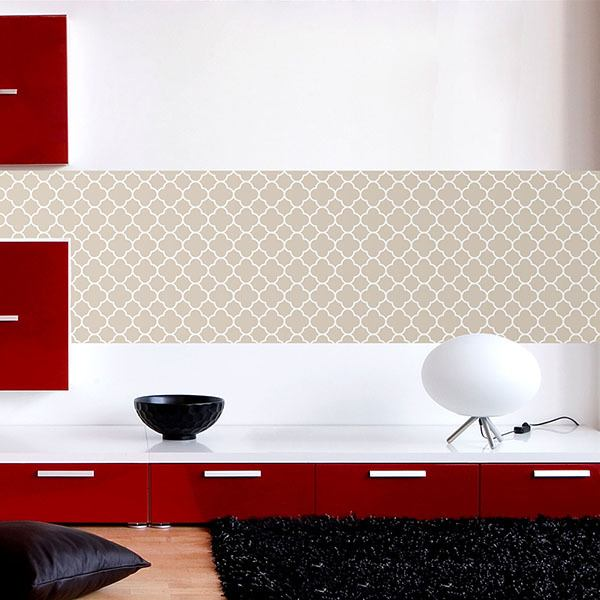 Wall Stickers: Rosette composition