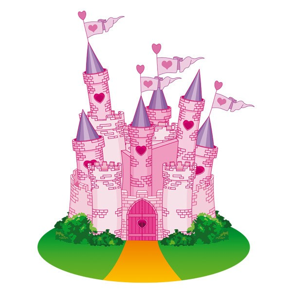 Stickers for Kids: The Castle of Love
