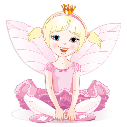 Stickers for Kids: Little Pink Fairy