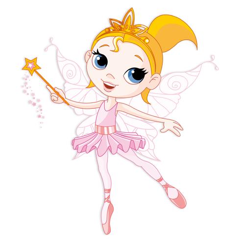 Stickers for Kids: Fairy Ballerina Rosa