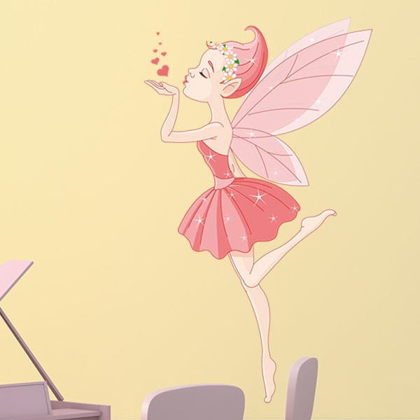 Stickers for Kids: Ballerina Fairy's Kiss