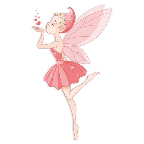Stickers for Kids: Ballerina Fairy