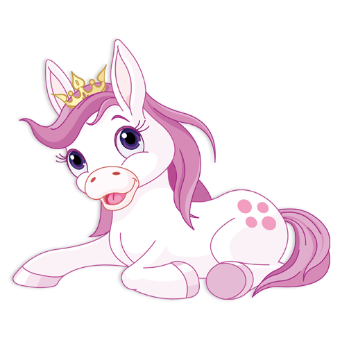 Stickers for Kids: Pink Donkey