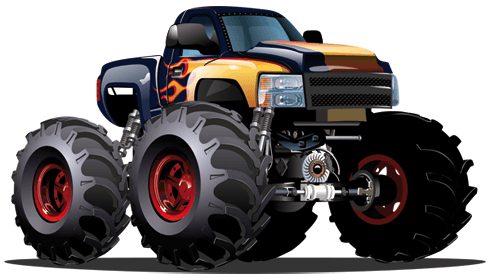 Stickers for Kids: Monster Truck 14