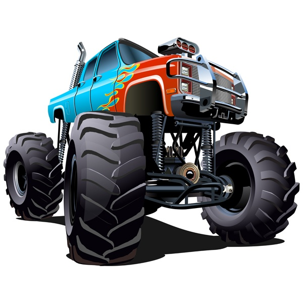Stickers for Kids: Monster Truck 18