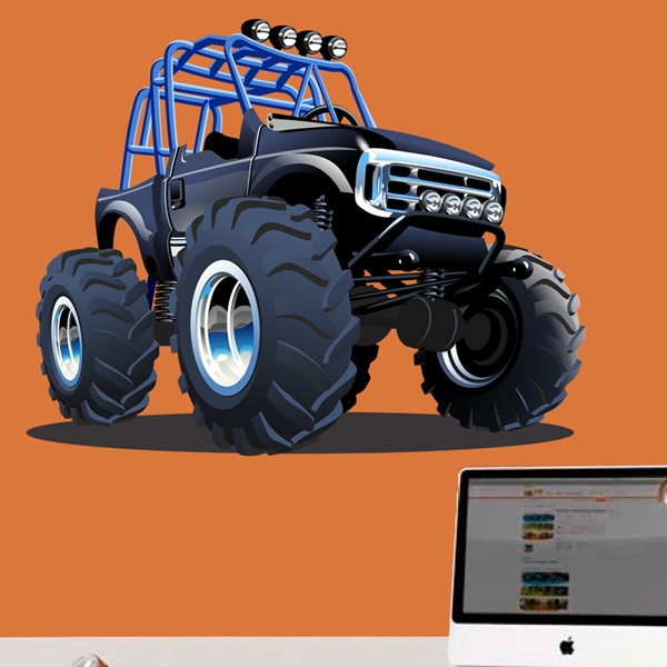 Stickers for Kids: Monster Truck 23