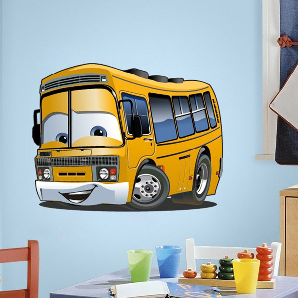 Stickers for Kids: School Bus