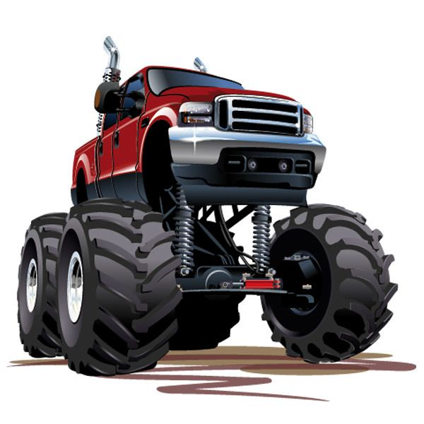 Stickers for Kids: Monster Truck 5