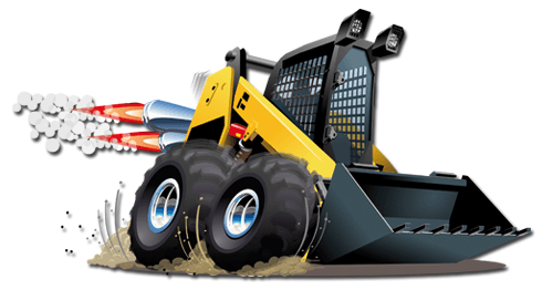 Stickers for Kids: Bulldozer