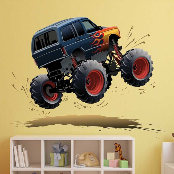 Stickers for Kids: Monster Truck 11 1