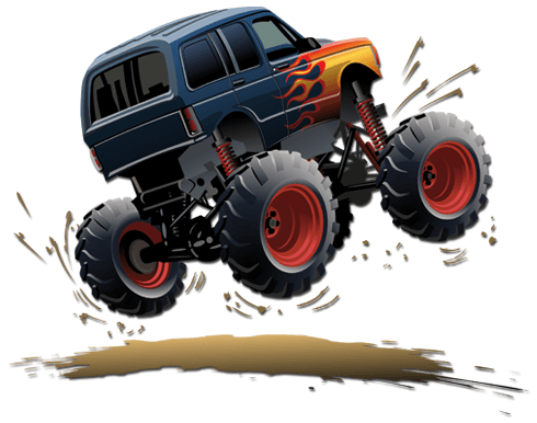 Stickers for Kids: Monster Truck 11 0
