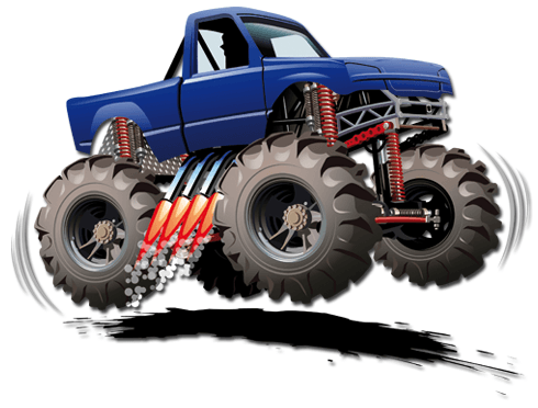 Stickers for Kids: Monster Truck 8 0
