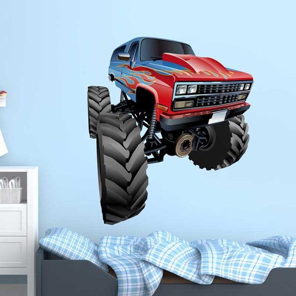 Stickers for Kids: Monster Truck 9