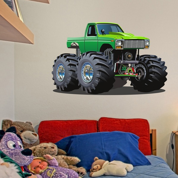 Stickers for Kids: Monster Truck 12