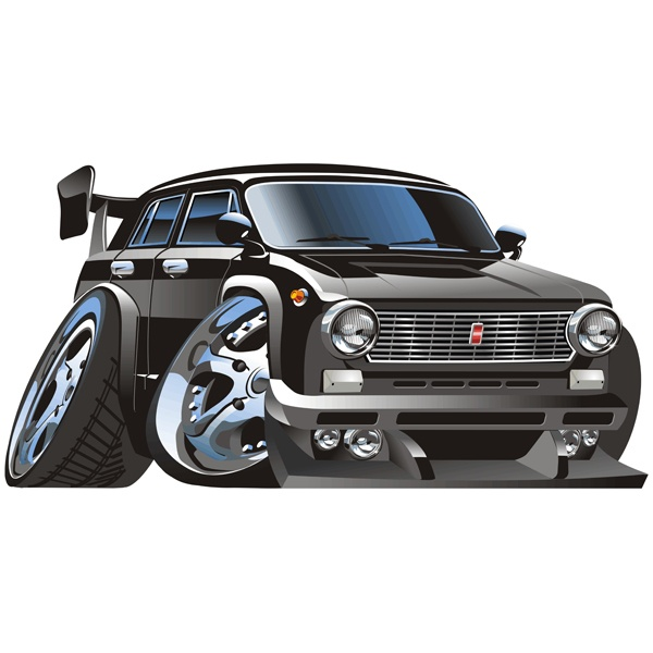Stickers for Kids: Classic car 4