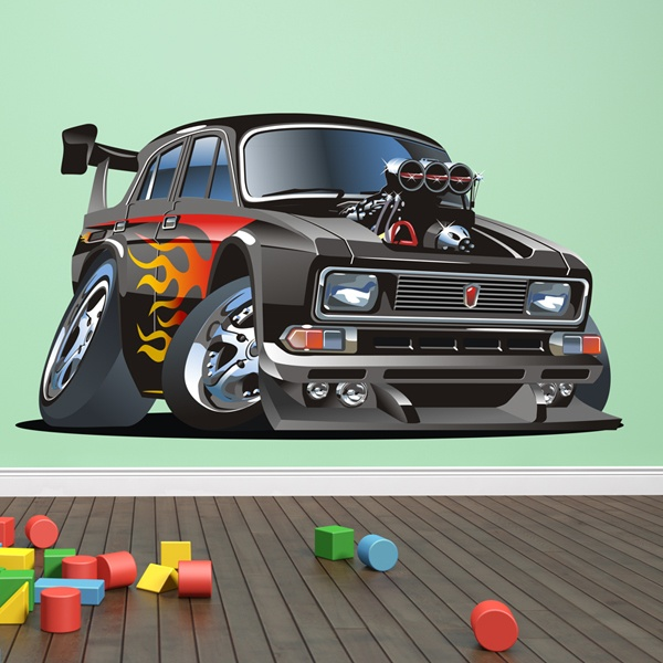 Stickers for Kids: Classic car 7