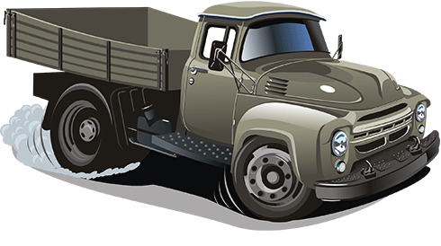 Stickers for Kids: Old truck transport 0