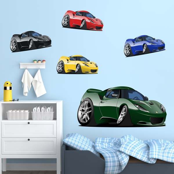 Stickers for Kids: Sports Car Kit