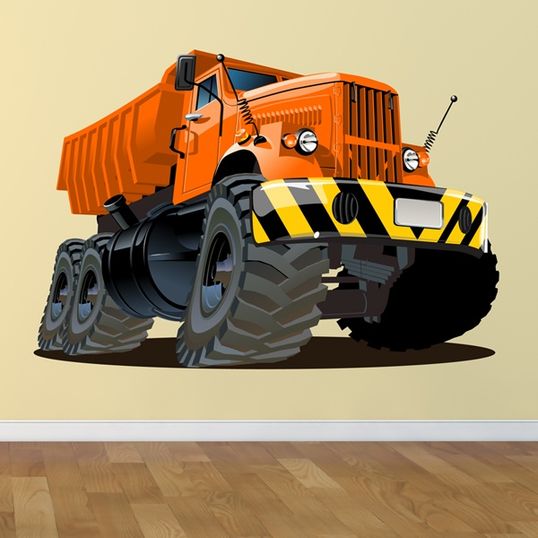 Stickers for Kids: Construction Truck