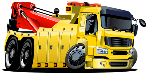 Stickers for Kids: Crane vehicle
