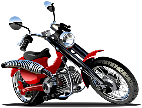 Stickers for Kids: Moto Harley 3