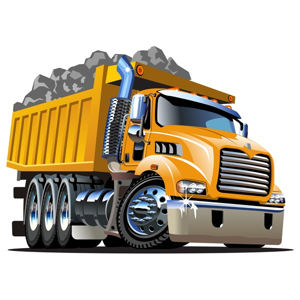Construction Truck Art Project