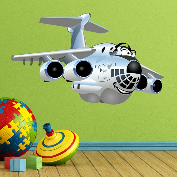 Stickers for Kids: Heavy Transport Aircraft 1