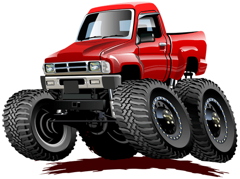 Stickers for Kids: Monster Truck 26