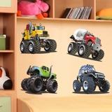 Stickers for Kids: Monster Truck Kit 2 3