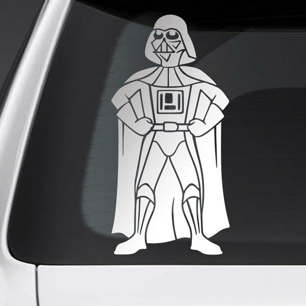 Car and Motorbike Stickers: Father Darth Vader