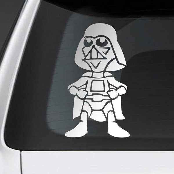 Car and Motorbike Stickers: Child son Darth Vader