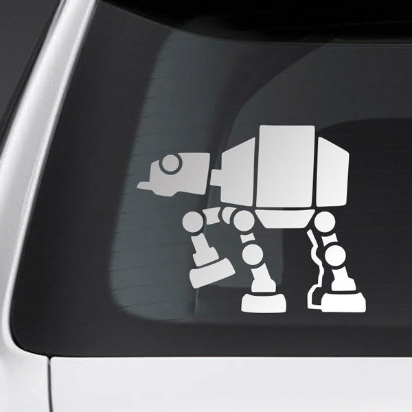 Car and Motorbike Stickers: Pet AT-AT