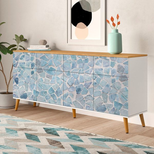 Wall Stickers: Blue stones